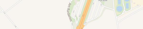 Karte Ruraue West Jülich