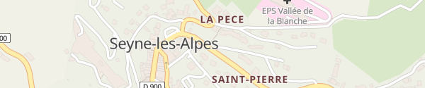 Karte Saint-Pierre Seyne