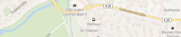 Karte Rathaus Inden