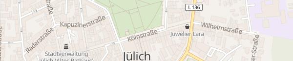 Karte Schlossplatz Jülich