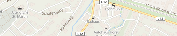 Karte Rathaus Langerwehe