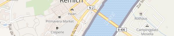 Karte Parking Um Grein Remich