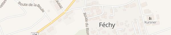 Karte Gemeindehaus Féchy