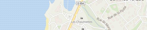 Karte Parking Avenue du Faubourg Savines-le-Lac