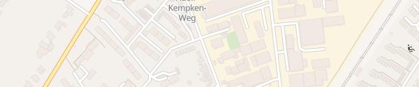 Karte credativ GmbH Mönchengladbach