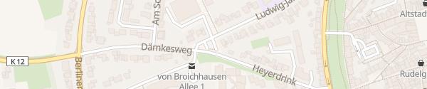 Karte Krankenhaus Kempen Kempen