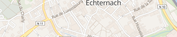 Karte Parking Rue Comté Sigefroi Echternach