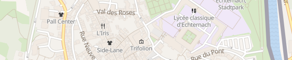 Karte Porte Saint Willibrord Echternach