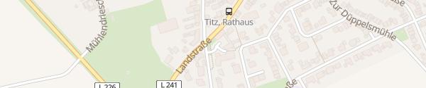 Karte Gemeindeverwaltung Titz