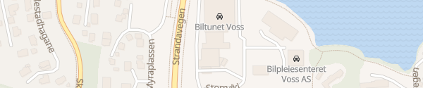 Karte YX Tankstelle Skulestadmo