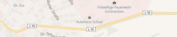Karte Autohaus Schaal Schönecken