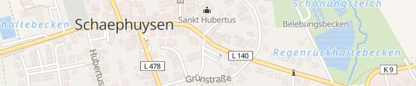Karte Pastoratstraße Rheurdt