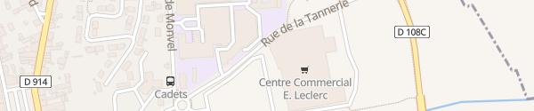Karte E. Leclerc Lunéville