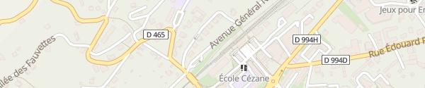 Karte Avenue Gén Nicolas Embrun