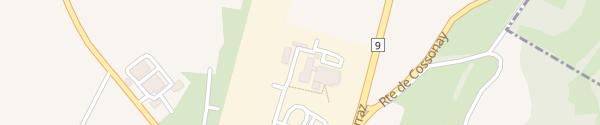 Karte Centre TCS Cossonay