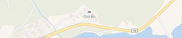 Karte OSA-BU Suldalsosen
