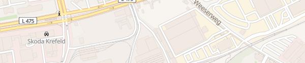 Karte Zentrale SWK Mobil Krefeld