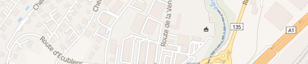 Karte Baumarkt  Masson & Cie SA Echandens