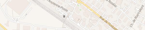 Karte Migros Bussigny-près-Lausanne