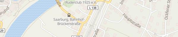 Karte Bahnhof Saarburg