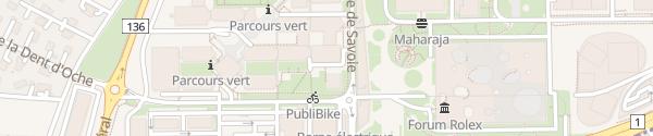 Karte Gofast EPFL Ecublens