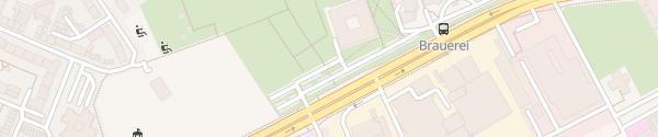 Karte Hochschule Niederrhein Krefeld