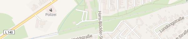 Karte Rathaus Neukirchen-Vluyn