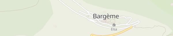 Karte SymielecVar Bargème