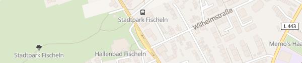 Karte Auto Gemein Krefeld