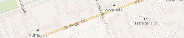 Karte Sprödentalplatz Krefeld