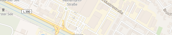 Karte Hagebaumarkt Kaarst