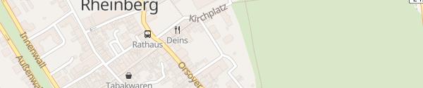 Karte Parkplatz Kattewall Rheinberg