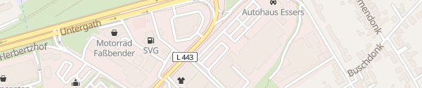 Karte ALDI Süd Hafelsstraße Krefeld