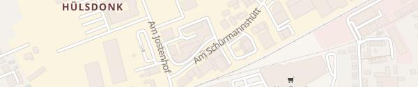 Karte Porsche Zentrum Niederrhein Moers