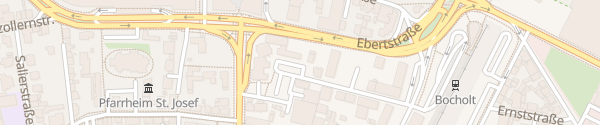 Karte Parkplatz BEW Bocholt