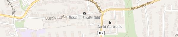 Karte Hotel-Restaurant Benger Krefeld