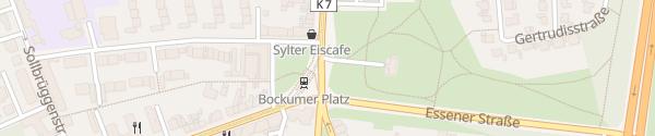 Karte Bockumer Platz Krefeld