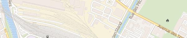 Karte Service des Energies Yverdon-les-Bains