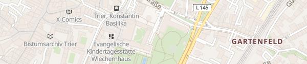 Karte Tiefgarage Basilika Trier