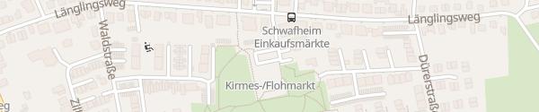 Karte Parkplatz Länglingsweg Moers