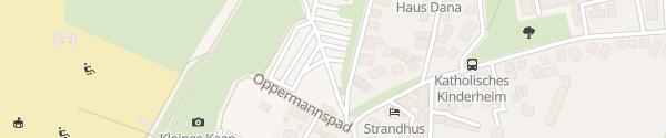 Karte Parkplatz Engel'se Pad Borkum