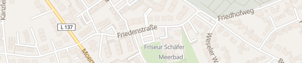 Karte Meerbad Meerbusch