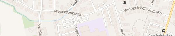 Karte Mataré Gymnasium Meerbusch