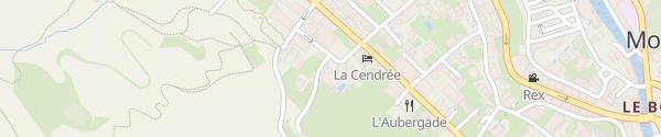 Karte Hôtel Champs Fleuris Morzine