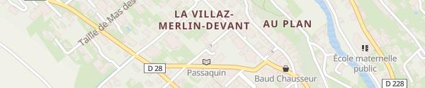 Karte Parking office de tourisme Morzine