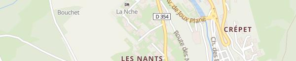 Karte Hôtel La Chaumière Morzine