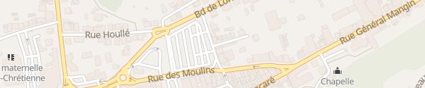 Karte Place du Marché Saint-Avold