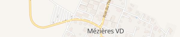 Karte Route de la Croix d'Or Mézières