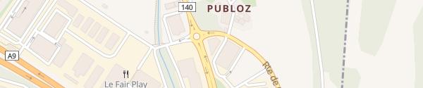 Karte Route de Chardonne Puidoux