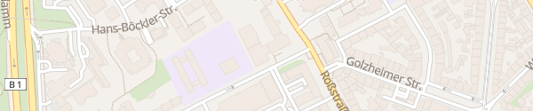 Karte Rolandstraße Düsseldorf